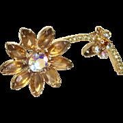 Juliana Long-Stemmed Flower Pin/Brooch