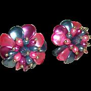 Vintage Multi-color Party Earrings