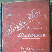 SALE Two Antique Trade Catalogs, Barker Bros, Birmingham &  Ft.Dearborn Watch&Clock Co.