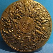 SALE Bronze Medallion. American Revolution Bicentennial, 1776-1976