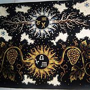 SALE Original Tapestry by Jean Picart Le Doux, Aubusson Weave, 1960's