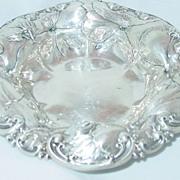 Whiting Small Sterling Silver Bon Bon Bowl 6507