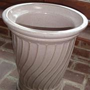 Glazed Galloway terra cotta urn