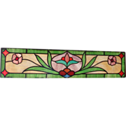 SOLD Early 20th century stained glass windows
