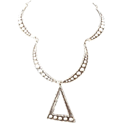 Taxco Sterling Handmade Necklace 50's-60's
