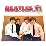 Beatles VI LP Vinyl Record Album Mono