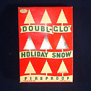 Box Doubl-Glo Holiday Snow For Christmas