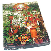 Plantasia Springbok Jigsaw Puzzle - Houseplants, Flowers