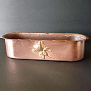 Flower Form Arts Crafts Craftsman Studios Copper Candlesticks