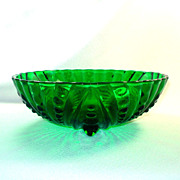Hocking Forest Green Inspiration Burple Serving Bowl