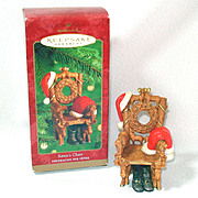 Hallmark 2000 Santa's Chair Keepsake Christmas Ornament