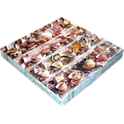 Teatime! Springbok Teacups Jigsaw Puzzle Complete
