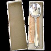 Primrose Oneida 1915 Silverplate Sugar Spoon in Original Box