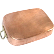 SOLD Large Copper Roasting Pan