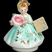Josef Originals June Birthday Girl Music Box