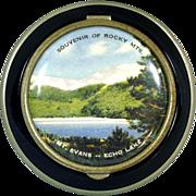 1930s Pictorial Echo Lake Colorado Souvenir Compact