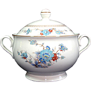 Noritake Bleufleur Round Covered Casserole or Tureen