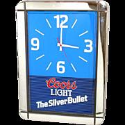 Coors Light Beer Wall Clock