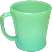 Fire King Jadeite Coffee Mug