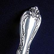 Chalice Oneida Wm A Rogers Silverplate Pierced Serving Spoon