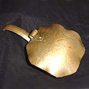 Craftsman Hammered Copper Silent Butler