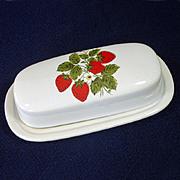 Anchor Hocking Crystal Sandwich Glass Punch Bowl Set In Original Box