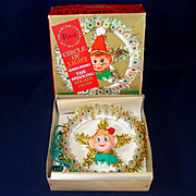 Pixie Circle of Light Wreath Tree Topper In Original Box