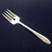 Queen Bess Oneida Silverplate Cold Meat Fork