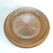 REDUCED Heisey Ridgeleigh 11 Inch Low Centerpiece Bowl