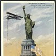 """""""The Statue of Liberty""""  (1925)"""