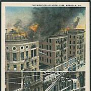 """""""The Monticello Hotel Fire""""  (1920')"""