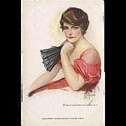 """Dullness reigns when you're away""  (1930')"