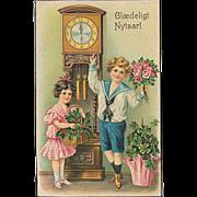 """""""A Happy NewYear""""  (1910')"""