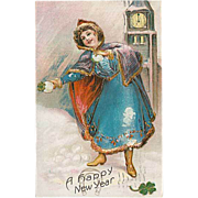 """""""A Happy New Year""""  (1910)"""