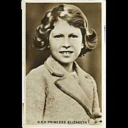 """H.R.H Princess Elizabeth"" (1930')"