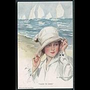 """Close to Shore""  (1916)"