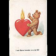 "SOLD ""Burning Heart""  (1933)"