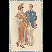"""SALE PENDING """"Stylish Couple""""  (1922)"""