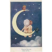 """""""What the Moon saw""""  (1914)"""