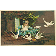 """""""Carrier Pigeons""""  (1917)"""