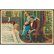 """Prayer to Santa""  (1916)"