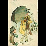 """Snowball Attack""  (1909)"