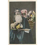 """Father Christmas in Blue"" (1911)"