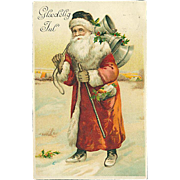 """Santa Claus in Red""  (1928)"
