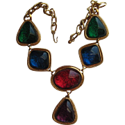 Vintage Kenneth Jay Lane CAPRIANTI Collection Necklace - KJL For AVON Jewelry
