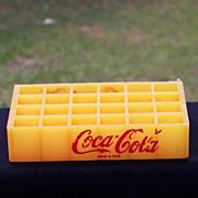 Plastic Coca Cola Bottle Crate Toy Spanish