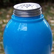 Chalaine Blue Kitchen Glassware Ginger Jar Shaker