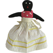 Black Americana Folk Art Mammy Doll Toaster Cover