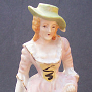 REDUCED Occupied Japan Figurine - Hand Painted