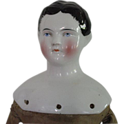 "C1850 Boy Kinderkopf China Head Doll 16"""